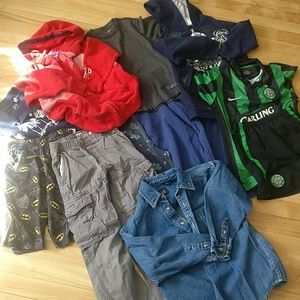 🇨🇦 11 pieces all seasons boys clothes  size 7
